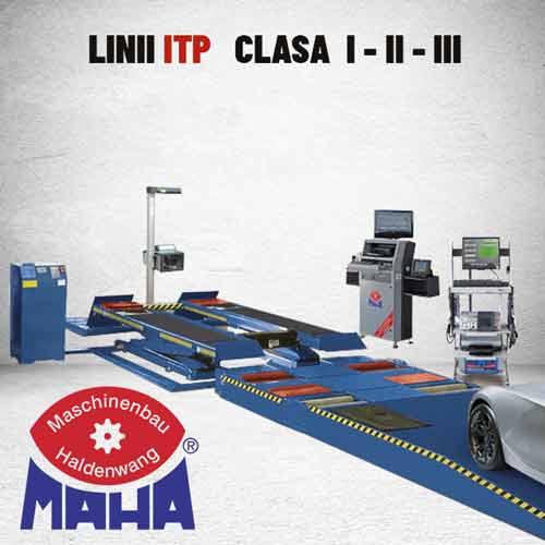 Echipamente · ITP · Clasa · I · II · III